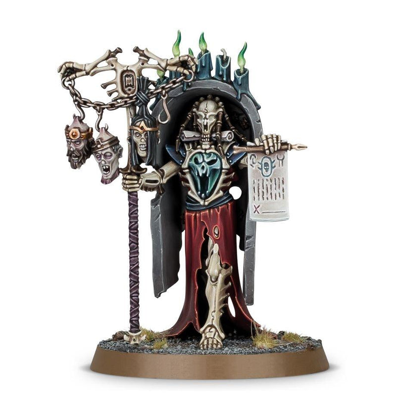 AOS: Ossiarch Bonereapers: Vokmortian Master Of The Bone-Tithe