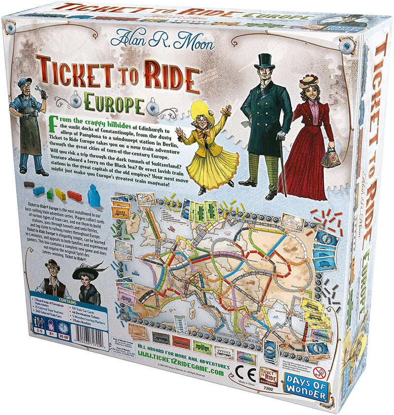BG: Ticket To Ride: Europe
