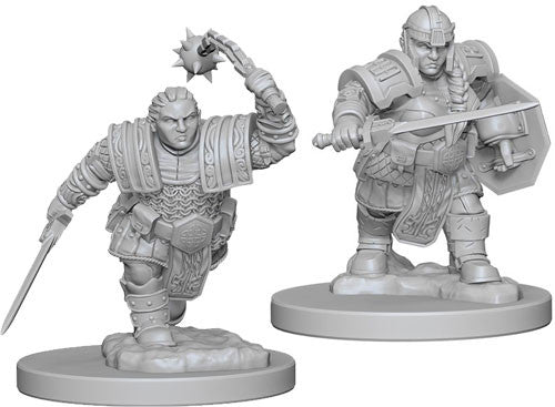 D&D Nolzur's Marvelous Unpainted Minis: W2 Dwarf Female Fighter