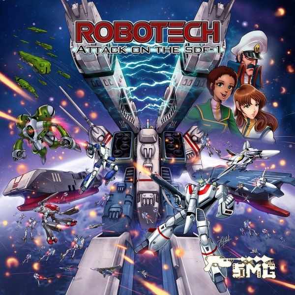 Robotech Attack On The Sdf1