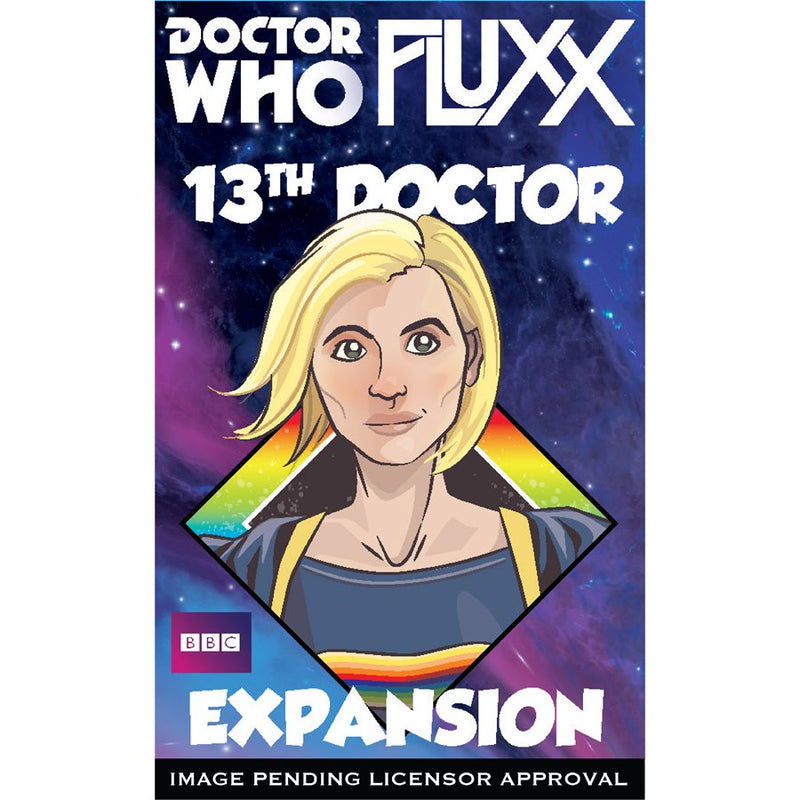 Fluxx: Doctor Who - 13th Doctor Expansion