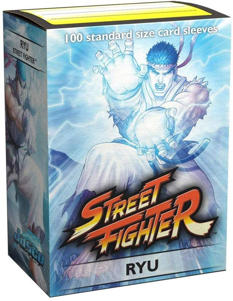 Dragon Shield Sleeves: Street Fighter - Ryu (100 Count)