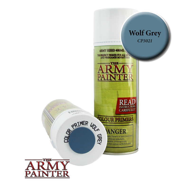 Army Painter: Color Primer Wolf Grey