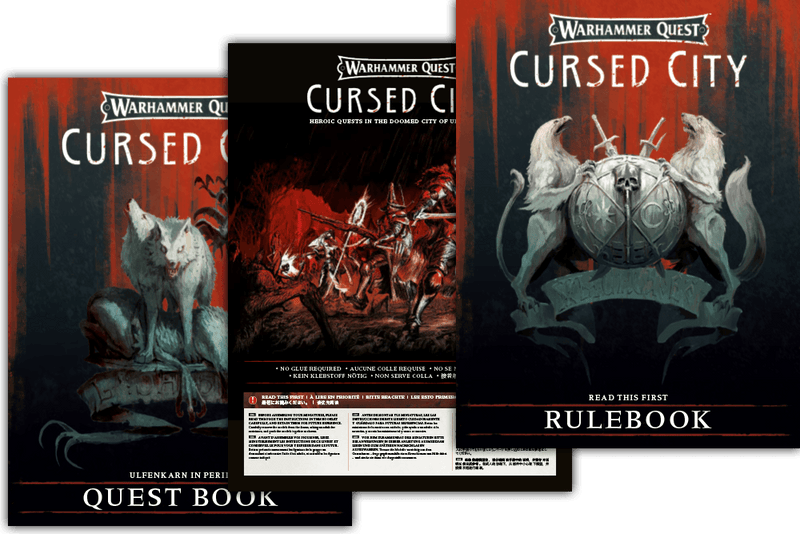 PREORDER Warhammer Quest: Cursed City