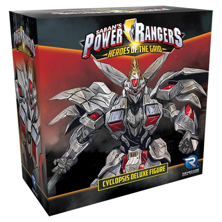 Power Rangers: Heroes of the Grid Cyclopsis Deluxe Figure