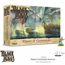 Black Seas: Master and Commander Stater Set