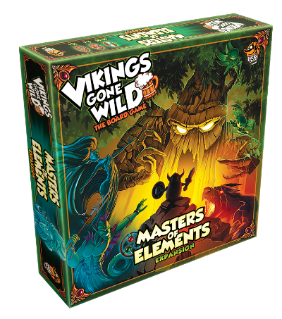 Vikings Gone wild - Masters of the Elements, Expansion