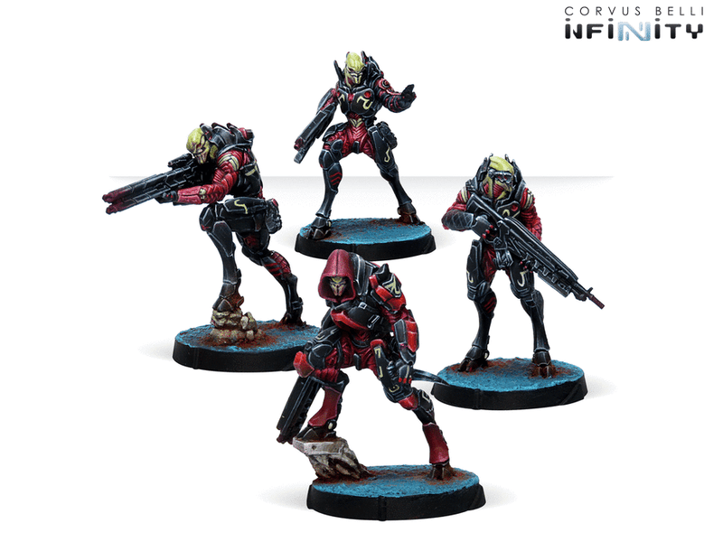 Infinity: Combined Army Shasvastii Nox Troops