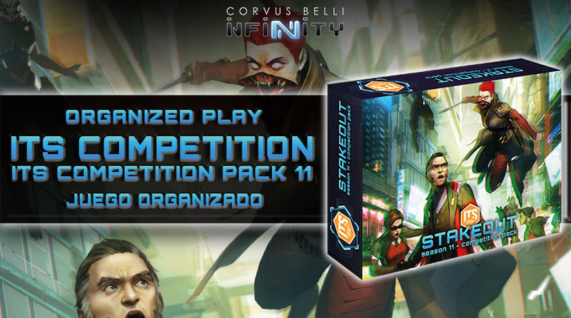 Infinity: Stakeout Competition Pack ITS (Infinity Tournament System) Season 11