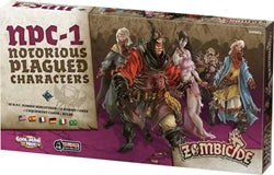 Zombicide: Notorious Plagued Characters