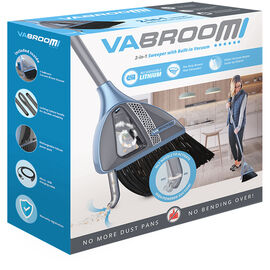 VaBroom Rechargeable 2in1 Broom