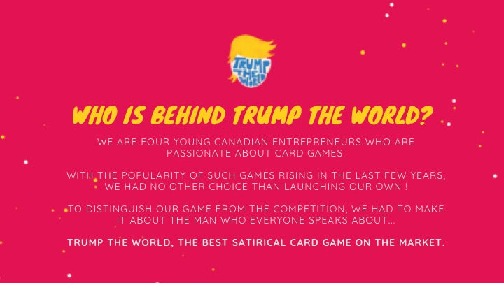 TRUMP THE WORLD - The GAME