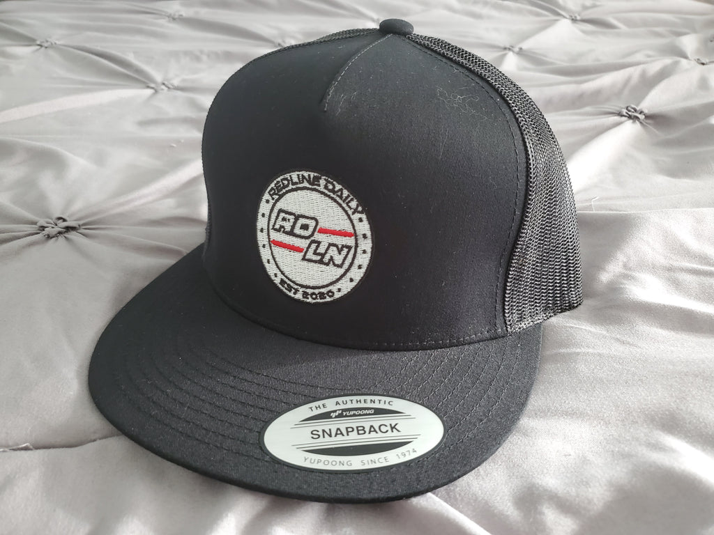 Flat Brim Snap Back - Redline Daily