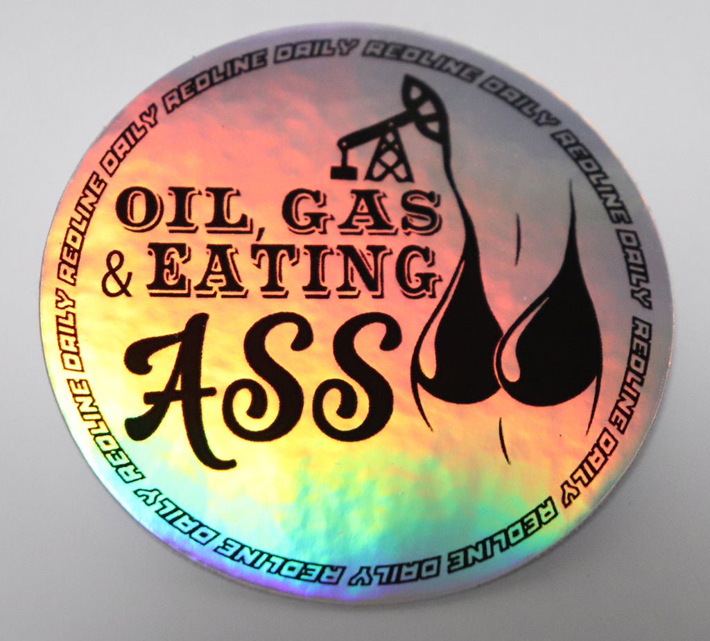Sticker - Oil&Gas Holo