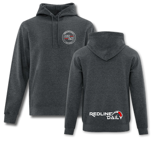 Heather Grey Hoodie - Redline Daily