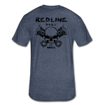 New RDLN Tee - heather navy
