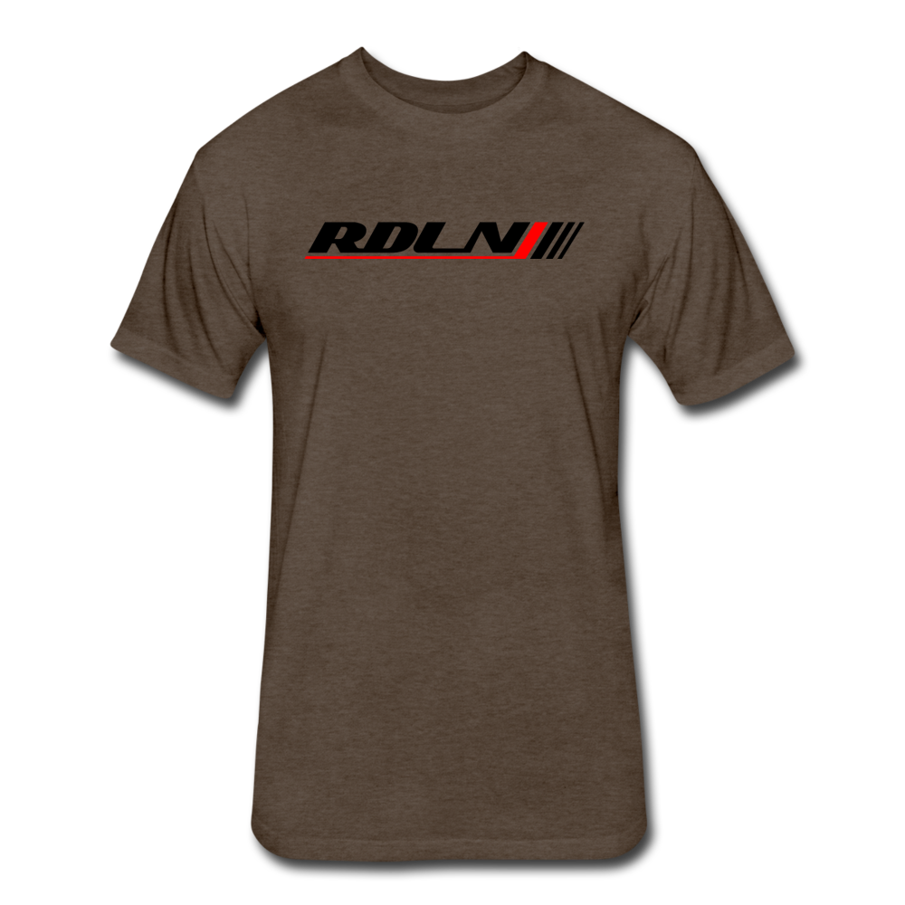 New RDLN Tee - heather espresso