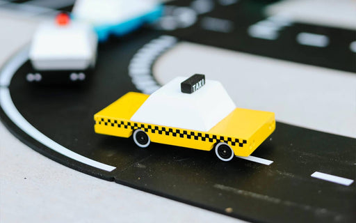 Candylab Toys - Candycar - Yellow Taxi - Tite chouette