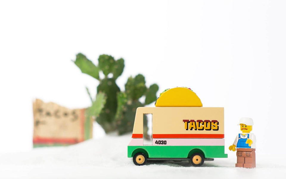 Candylab Toys - Food-truck Taco Van - Tite chouette