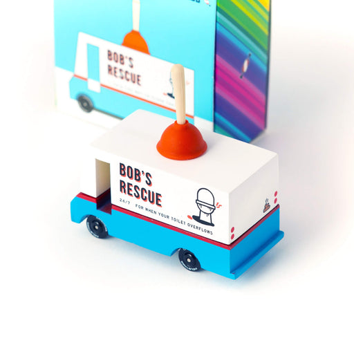 Candylab Toys - Candylab - Bob's Plumbing Van - Tite chouette
