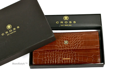Clutch Wallet for Women - Brown