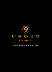 CROSS Laptop Backpack 2021 Collection