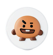 Load image into Gallery viewer, BT21 CHEEK CUSHION 01 RASPBERRY
