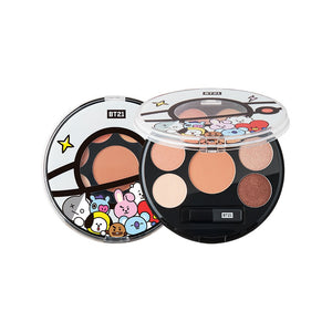 BT21 EYESHADOW PALETTE 01 MOOD BROWN - NO LONGER EXISTS