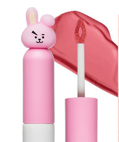 BT21 CREAM LIP LACQUER 03 MELLOW CORAL