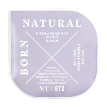 Load image into Gallery viewer, VT x BTS BORN NATURAL CAPSULE MASK KIT