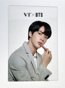VT X BTS COLLABORATION PLASTIC CARD SET OF BTS MEMBERS