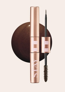 VT X BTS STAY IT EYELINER MASCARA DUO 02 BROWN