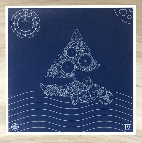 Memosail Print Now on sale