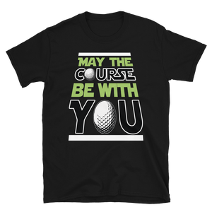 Vick Golf May The Course Be With You Golf T-Shirt - vickgolf.com