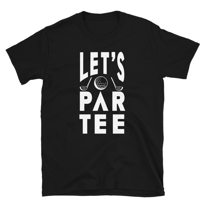 Vick Golf LETS PARTEE GOLF T-SHIRT - vickgolf.com