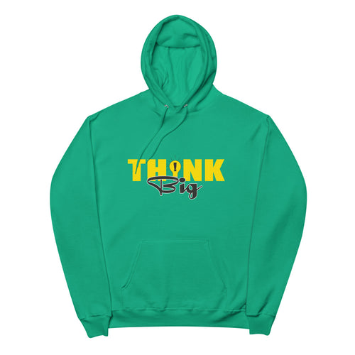 Think Big Fleece Hoodie | Entrepreneur | Motivation | Dream and Visualise | Vick Golf - vickgolf.com