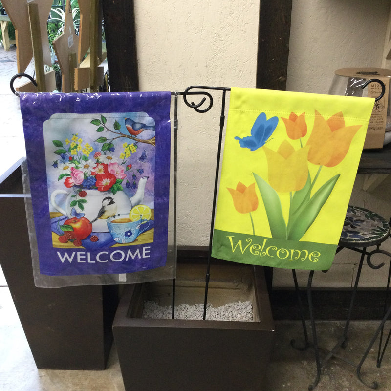 Welcome Yard Flag