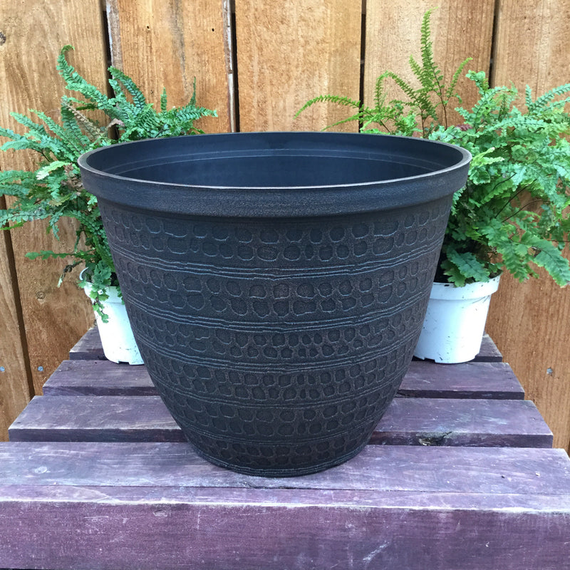 "12"" Chestnut Planter"
