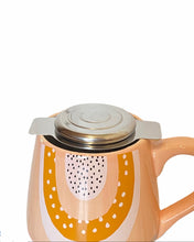 Load image into Gallery viewer, Tea strainer with lid and two handles