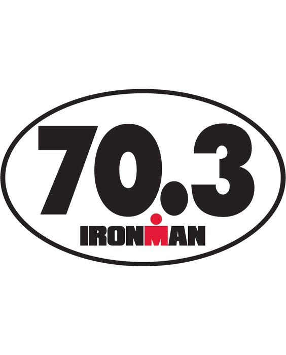IM Sticker 70.3 IRONMAN