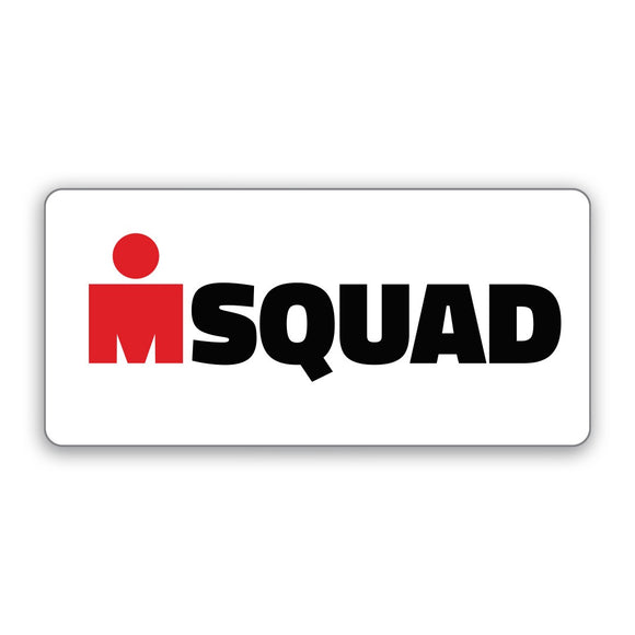 M Squas Sticker White ( Only Only)