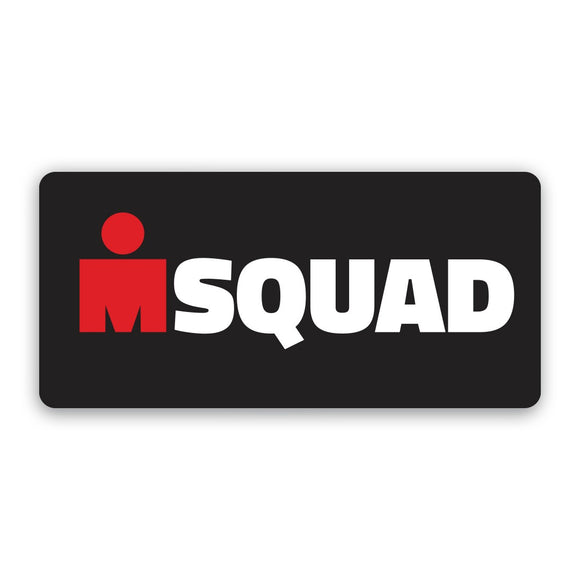 M Squas Sticker Black ( Only Only)