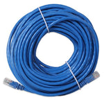 50' FT Feet 50Ft 50 Feet CAT6 CAT 6 RJ45 Ethernet Network LAN Patch Cable Cord For connects Computer to printer, router, switch box PS3 PS4 Xbox 360 Xbox One - Blue New - ReLite