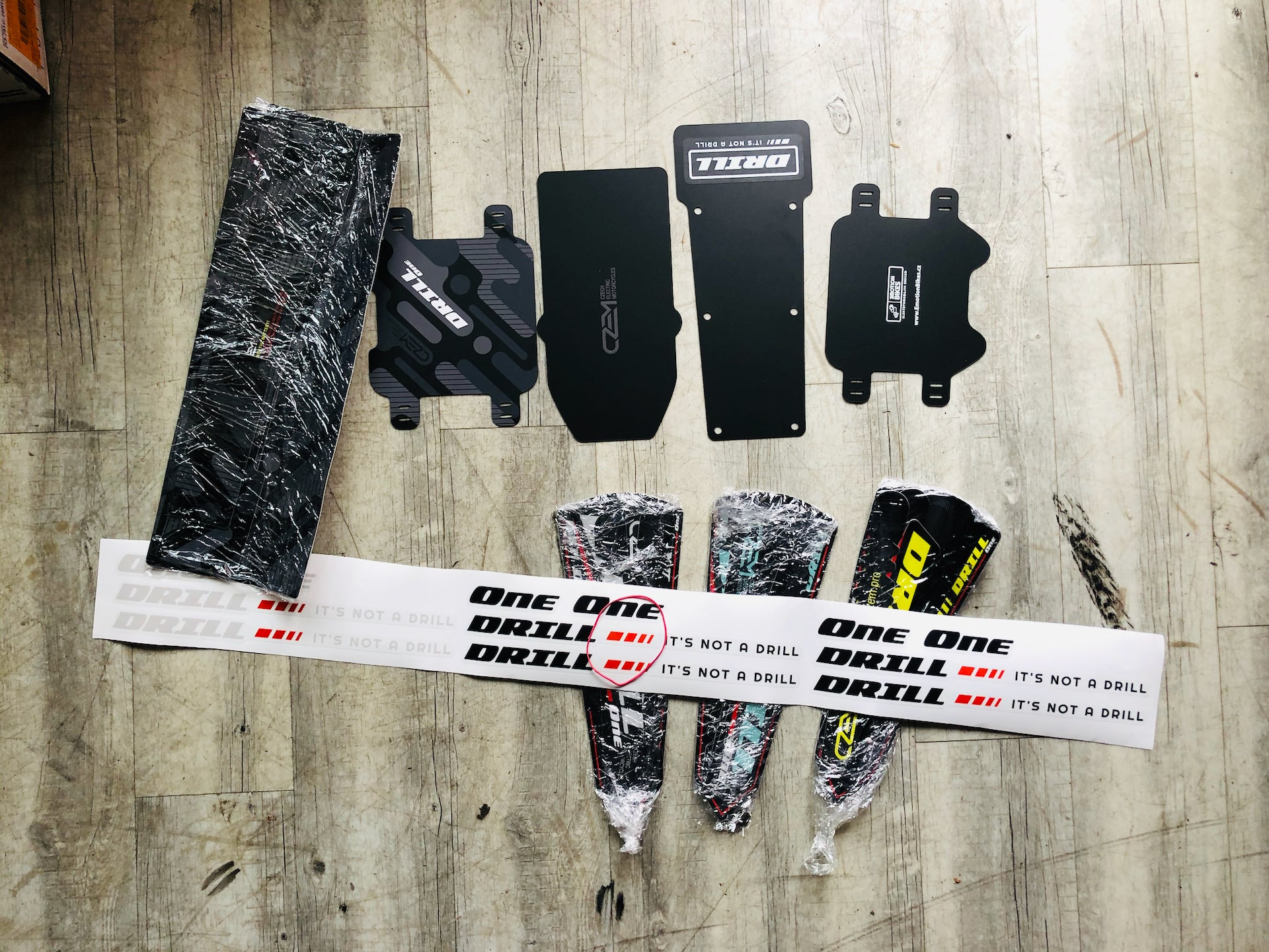 New Drill One Decal Kit 2020-2021