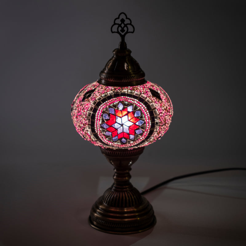 Hand Made Pink Star Lamp