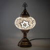 Hand Made White Star Lamp