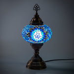 Hand Made Royal Blue Star Lamp