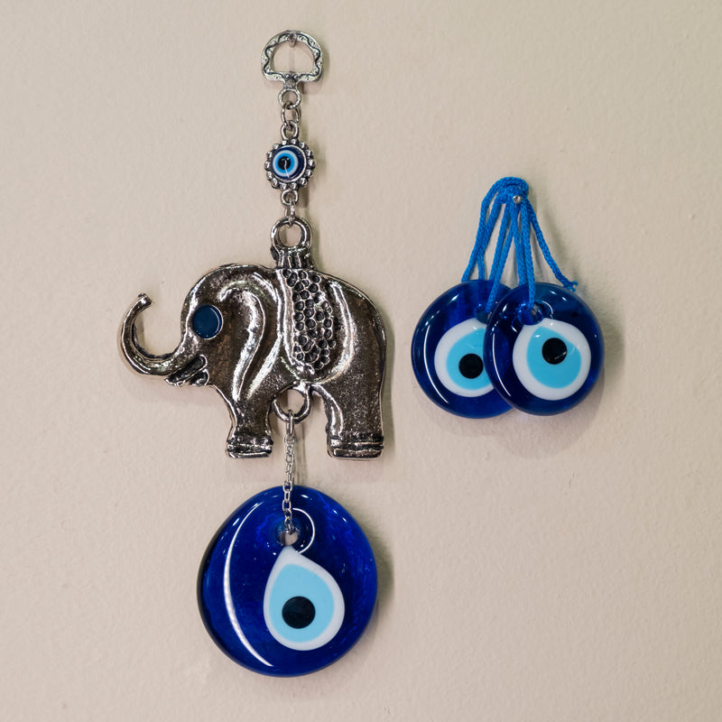 Elephant Evil Eye Set