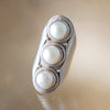Pearl Triple Ring