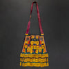 Traditional Tuareg Multi Color Goat Leather Bag